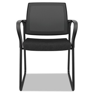 HON Ignition Series Mesh Back Guest Chair with Sled Base