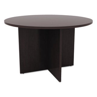 "Alera Valencia Round Conference Table with Legs, 29 1/2h x 42 dia. - 42""D x 29.5""H"
