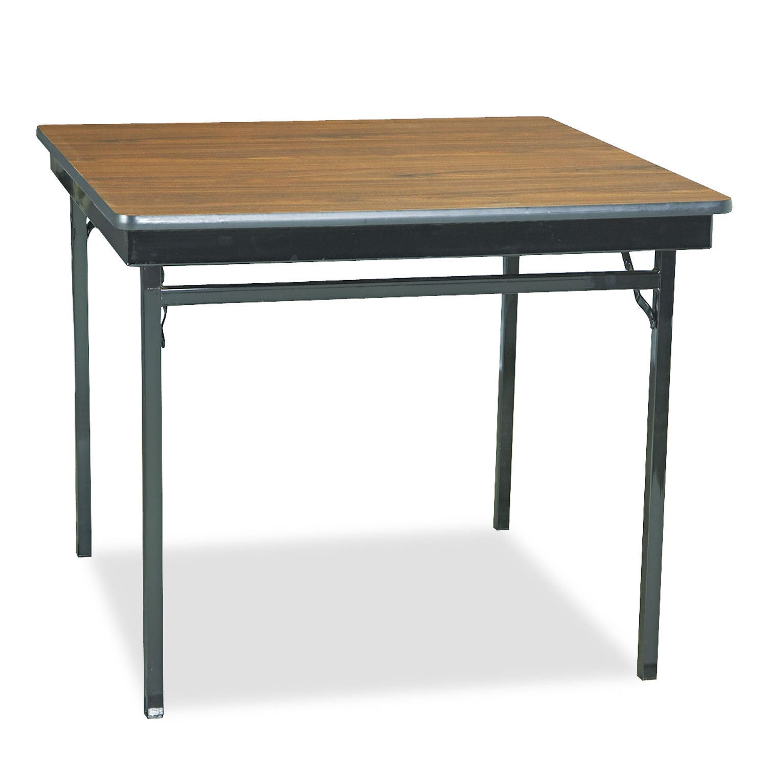 Barricks Special Size Folding Table, Square, 36w x 36d x ...