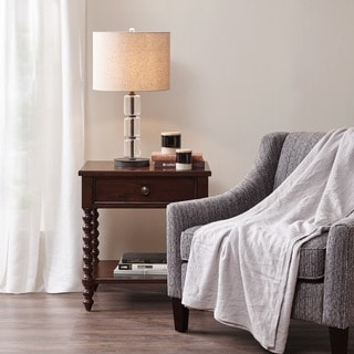 Link to Madison Park Signature Beckett Morocco Brown Nightstand Similar Items in Bedroom Furniture