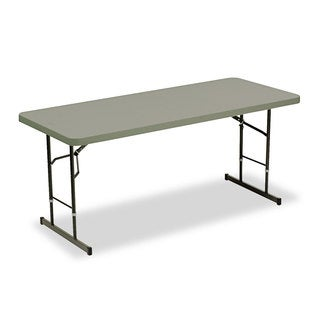 Iceberg Adjustable Height Tables, 72w x 30d x 25-35h