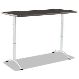 Iceberg ARC Sit-to-Stand Desks, Rectangular Top, 30w x 60d x 30-42h