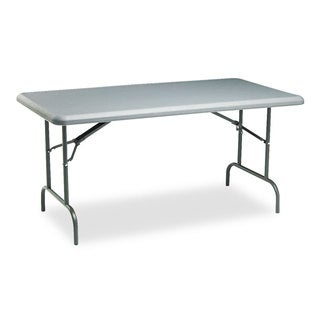 Iceberg IndestrucTables Too 1200 Series Resin Folding Table, 60w x 30d x 29h