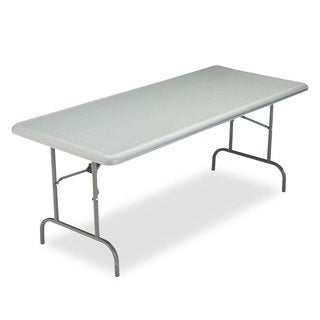 Iceberg IndestrucTables Too 1200 Series Resin Folding Table, 72w x 30d x 29h