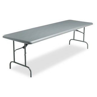 Iceberg IndestrucTables Too 1200 Series Resin Folding Table, 96w x 30d x 29h
