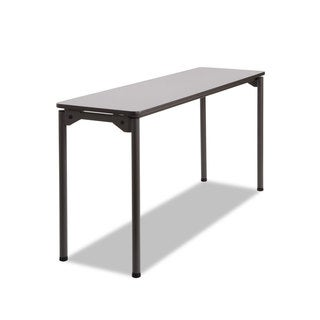 Iceberg Maxx Legroom Rectangular Folding Table, 60w x 18d x 29-1/2h