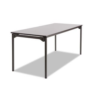 Iceberg Maxx Legroom Rectangular Folding Table, 72w x 30d x 29-1/2h
