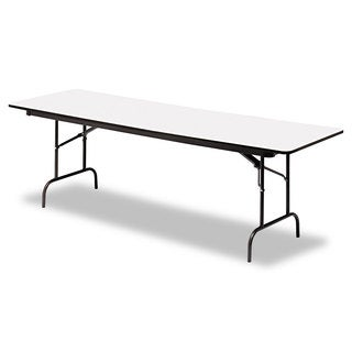 Iceberg Premium Wood Laminate Folding Table, Rectangular, 96w x 30d x 29h (3 options available)