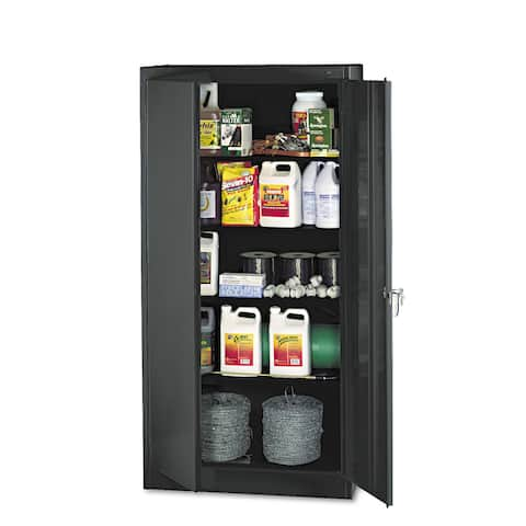 "Tennsco 72"" High Standard Cabinet, 36w x 18d x 72h"