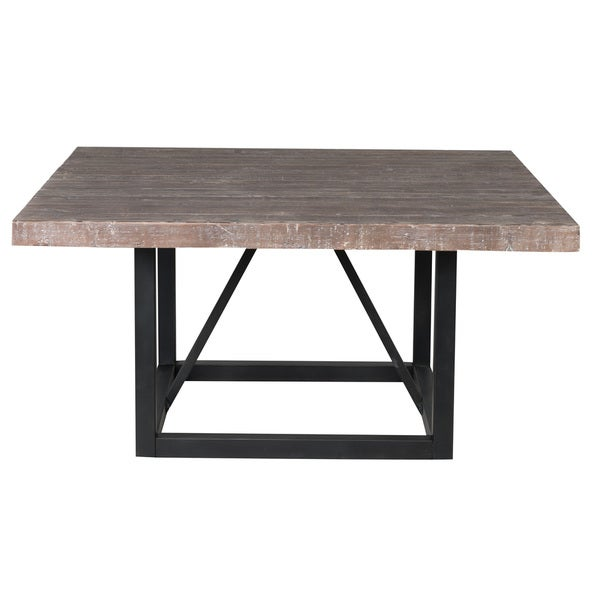 60 square dining table reclaimed wood 60 inch square dining table by kosas 3937