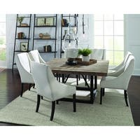 Mia Reclaimed Wood 60-inch Square Dining Table by Kosas Home - Brown