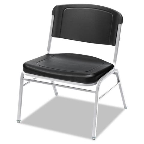 Iceberg Rough N Ready Series Big & Tall Stackable Chair (Set of 4)