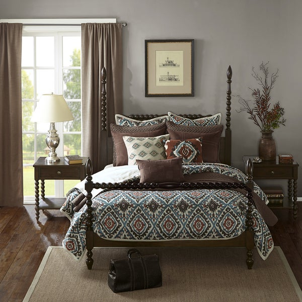 Madison Park Signature Beckett Morocco Brown Bed