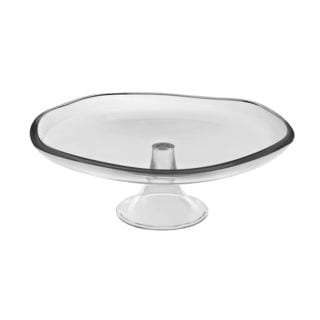 Majestic Gifts Quality Glass 13.75-inch Cake Plate