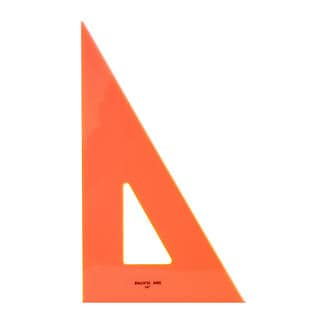 Professional Fluorescent Triangles [Pack of 2]