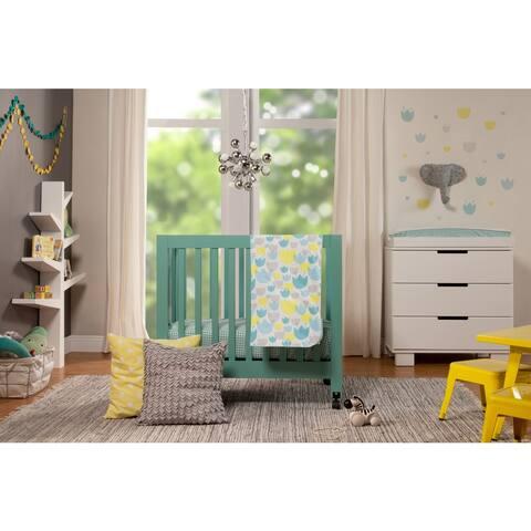 Babyletto 4-Piece Tulip Garden Mini Crib Set