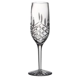 Majestic Gifts Clear Crystal 6-ounce Champagne Flute (Set of 4)