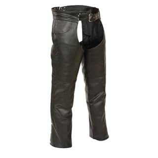 Men's Leather Classic Jean-pocket Chaps https://ak1.ostkcdn.com/images/products/13788849/P20439666.jpg?impolicy=medium