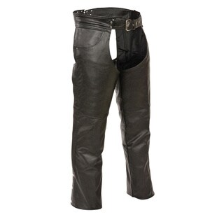 Men's Leather Classic Jean-pocket Chaps