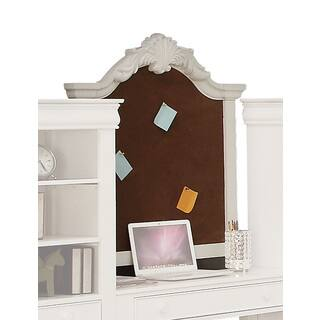 ACME Furniture Estrella White Pine Corkboard Wall Frame