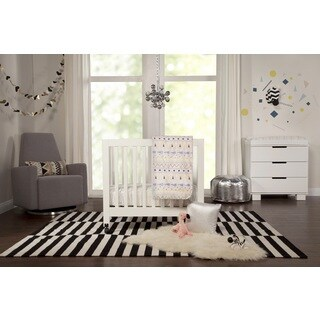 Babyletto 4-piece Desert Dreams Mini Crib Bedding and Decor Set