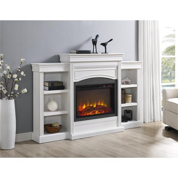 Ameriwood Home Lamont Mantel Fireplace - Free Shipping Today ...