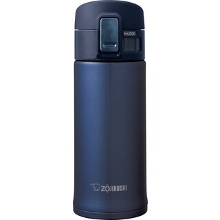Zojirushi Blue/Black Stainless Steel 12-ounce Travel Mug