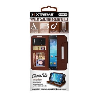 Xtreme Card Phone Holder Classic Folio Wallet Case for Galaxy S4 or iPhone 6/6s