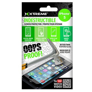 Xtreme 3 Pack Indestructible Super-thin iPhone 5 Screen Protector Kit