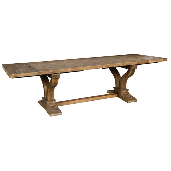 Popular Albert Reclaimed Wood Natural 110-inch Extending Dining Table by  HK11
