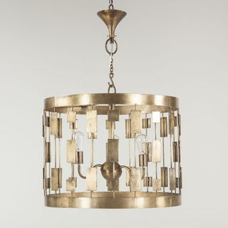 Illume Brass Metal 3-light Pendant