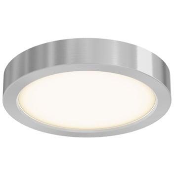 Aluminum 6 Inch Round Led Flushmount Ceiling Light Free