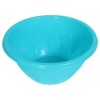 YBM Home Round Plastic 1040 Party Snack or Salad Serving Bowl
