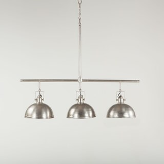 Artezia Antique Nickel Finish Metal 3-light Chandelier