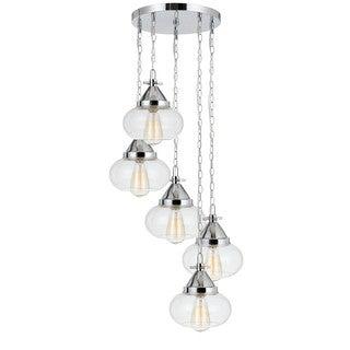 Maywood 5-Light Glass Pendant