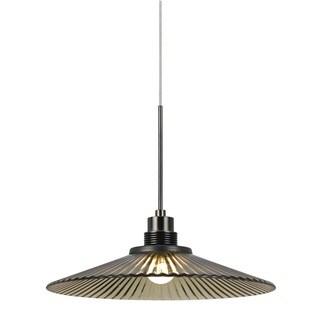 Bronze-finished Metal 9-watt 3500K LED Pendant