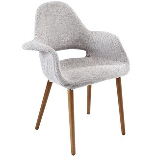 Hamley Modern Upholstered Dining Chair - Light Gray