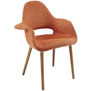 Hamley Modern Upholstered Dining Chair - Orange