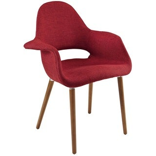 Hamley Modern Upholstered Dining Chair - Red