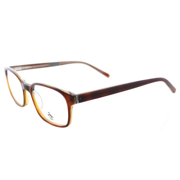 a7b3c420a0 Original Penguin The Freddy TO Tortoise Plastic Rectangle 49mm Eyeglasses