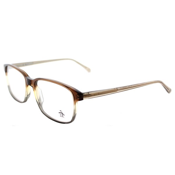 be8af4fe11a Original Penguin The Theodore SH Dark Shadow Plastic 56-millimeter  Rectangle Eyeglasses