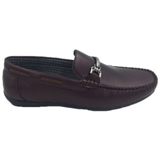 Mecca Mens Slip-on Loafer Driver Shoes