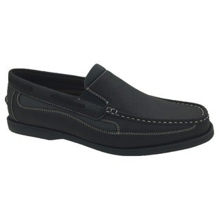 Andrew Fezza Faux-leather Slip-on Loafer Shoes