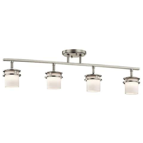 Kichler Lighting Hendrik Collection 4-light Brushed Nickel Rail Light