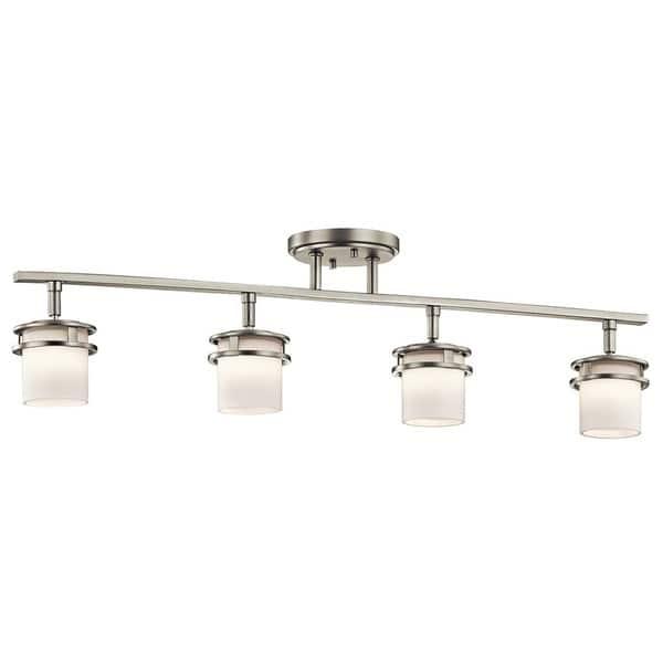 Kichler Lighting Hendrik Collection 4 Light Brushed Nickel Rail