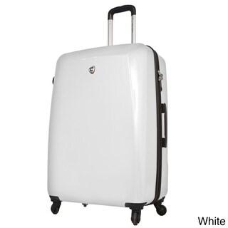 Mia Toro ITALY Fibre di Carbonio Moderno 25-inch Expandable Hardside Spinner Upright Suitcase
