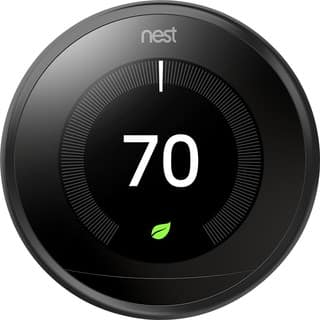 Nest Learning Thermostat 3rd Generation, Black|https://ak1.ostkcdn.com/images/products/13796238/P20445280.jpg?impolicy=medium
