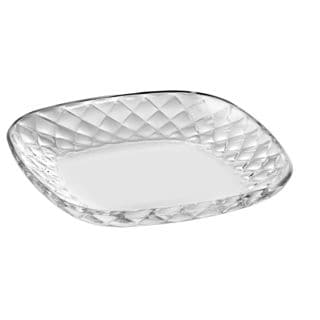 Majestic Gifts Clear Glass Platter