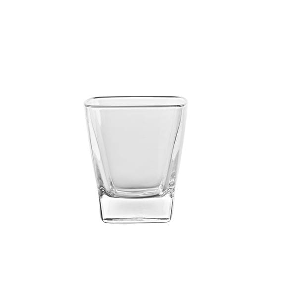 Majestic Gifts Clear Glass 10-ounce Square Tumbler (Pack of 6)