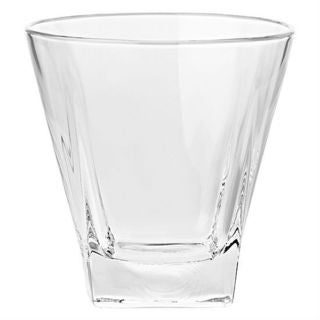 Majestic Gifts Clear Glass Double Old Fashioned Tumbler (Pack of 6)